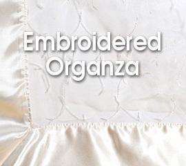 Embroidered Organza