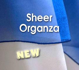 Sheer Organza